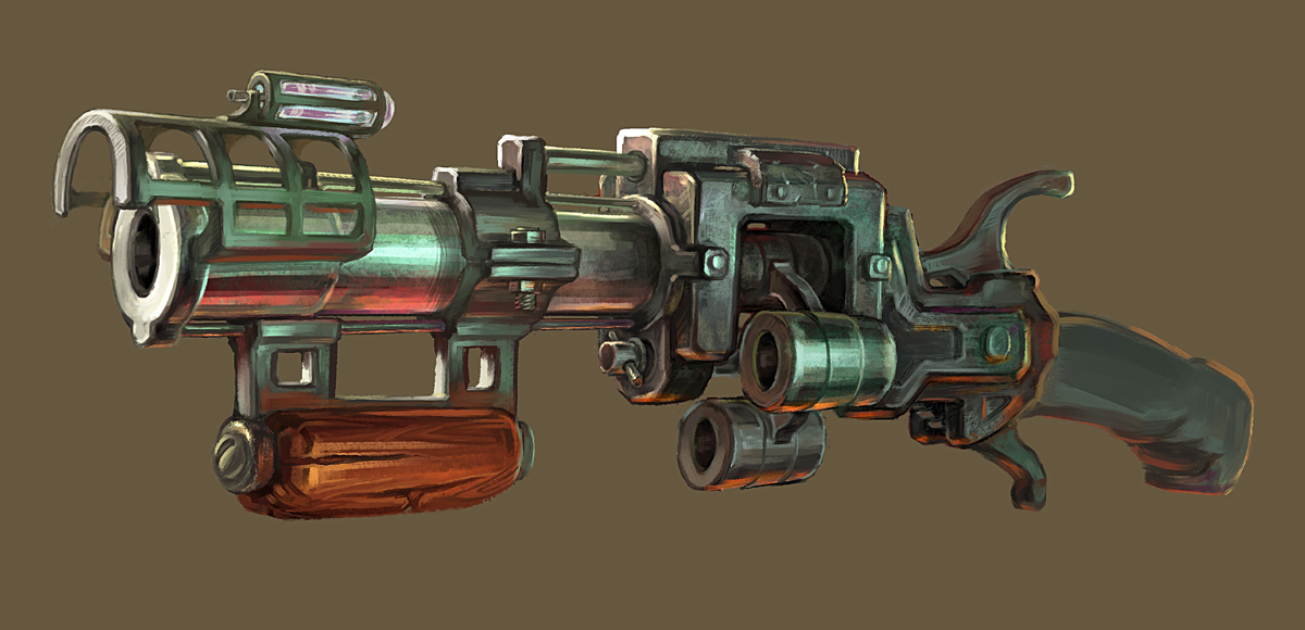Gun by Igor-Grechanyi