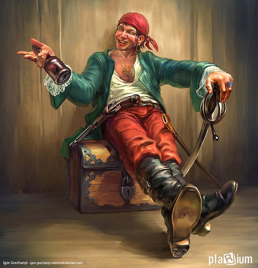 Pirate by Igor-Grechany-Ostrov