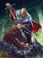 Monk Warrior 2 by Igor-Grechanyi