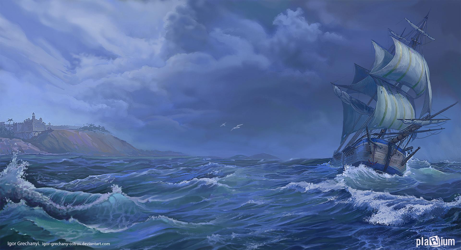 Seascape by Igor-Grechanyi