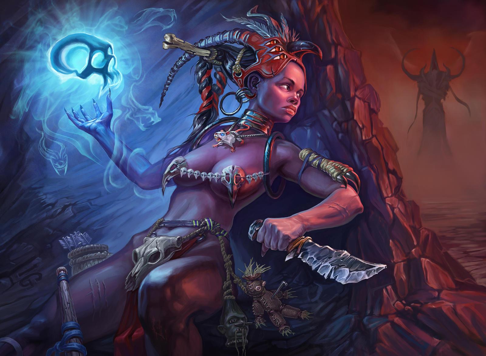 Diablo 3 Witch Doctor by Igor-Grechany-Ostrov