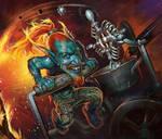 Goblins vs. Gnomes. Catapult.