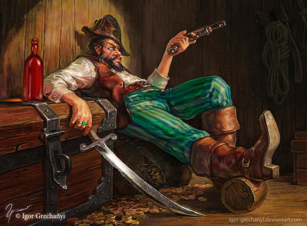 One more pirate by Igor-Grechanyi