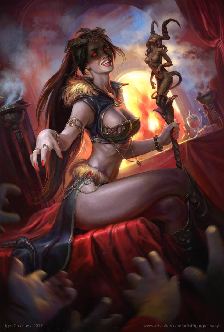 Areana. Demon of temptation. by Igor-Grechanyi