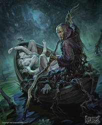 Blightwater Ferryman by Igor-Grechanyi