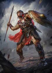 Light Spear Thrower Ferdinand by Igor-Grechanyi