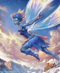 Bluebell Pixie by Igor-Grechanyi