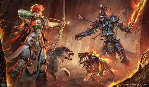 Illustration for Pathfinder RPG.