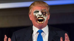 Donald Zombie Trump by Araceli193