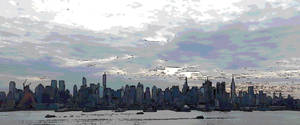 NYC: Manhattan Skyline by Araceli193