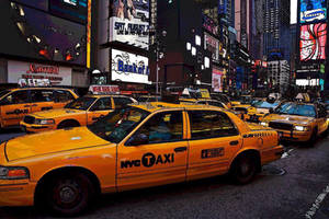 NYC: Taxi Cabs by Araceli193