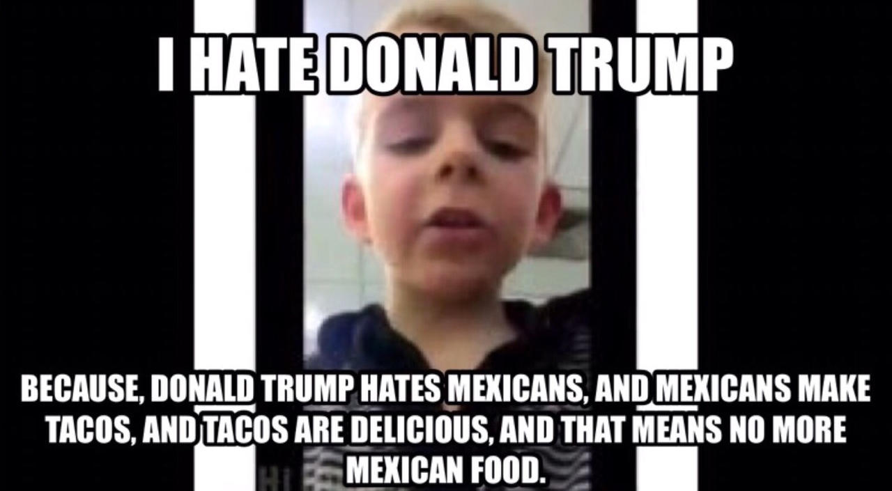 Trump Mexican Food