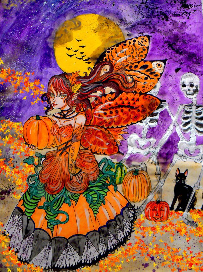 Halloween Fairy by chaosqueen122