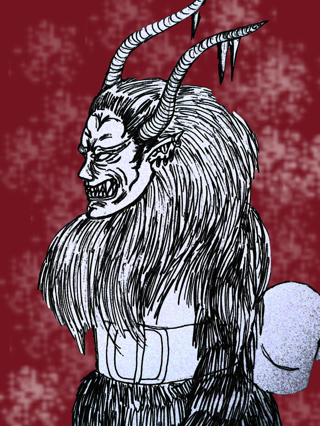 Greetings from Krampus 2 by chaosqueen122