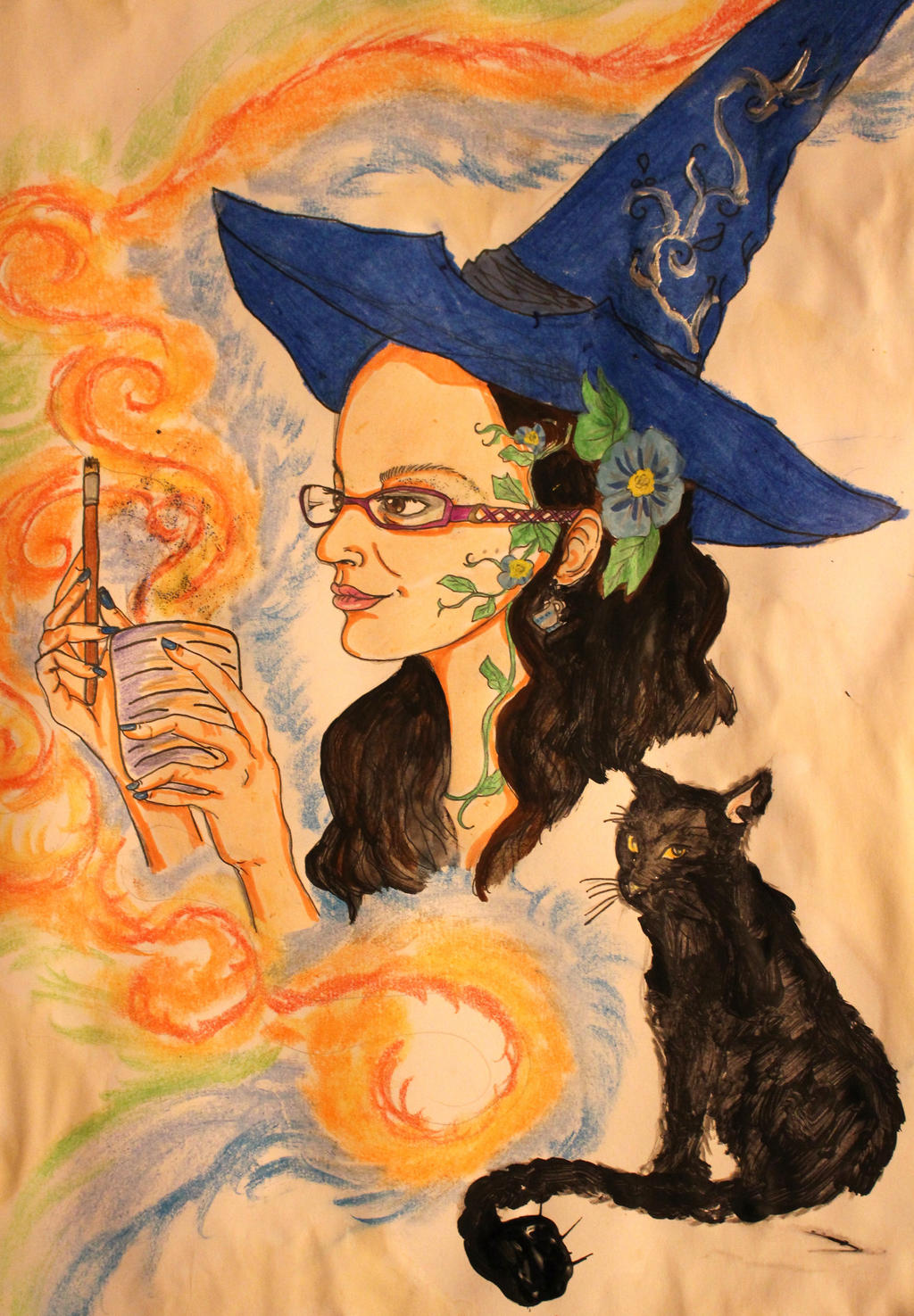 Gift Herbal Witch By Chaosqueen122 On Deviantart