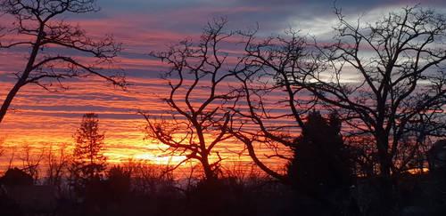 Fire Sky by chaosqueen122