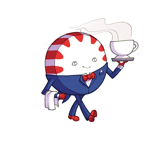 Image Gallery Peppermint Butler