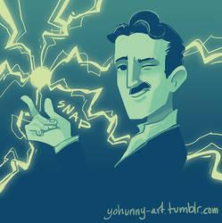 Palette/Emoji challenge - Nikola Tesla