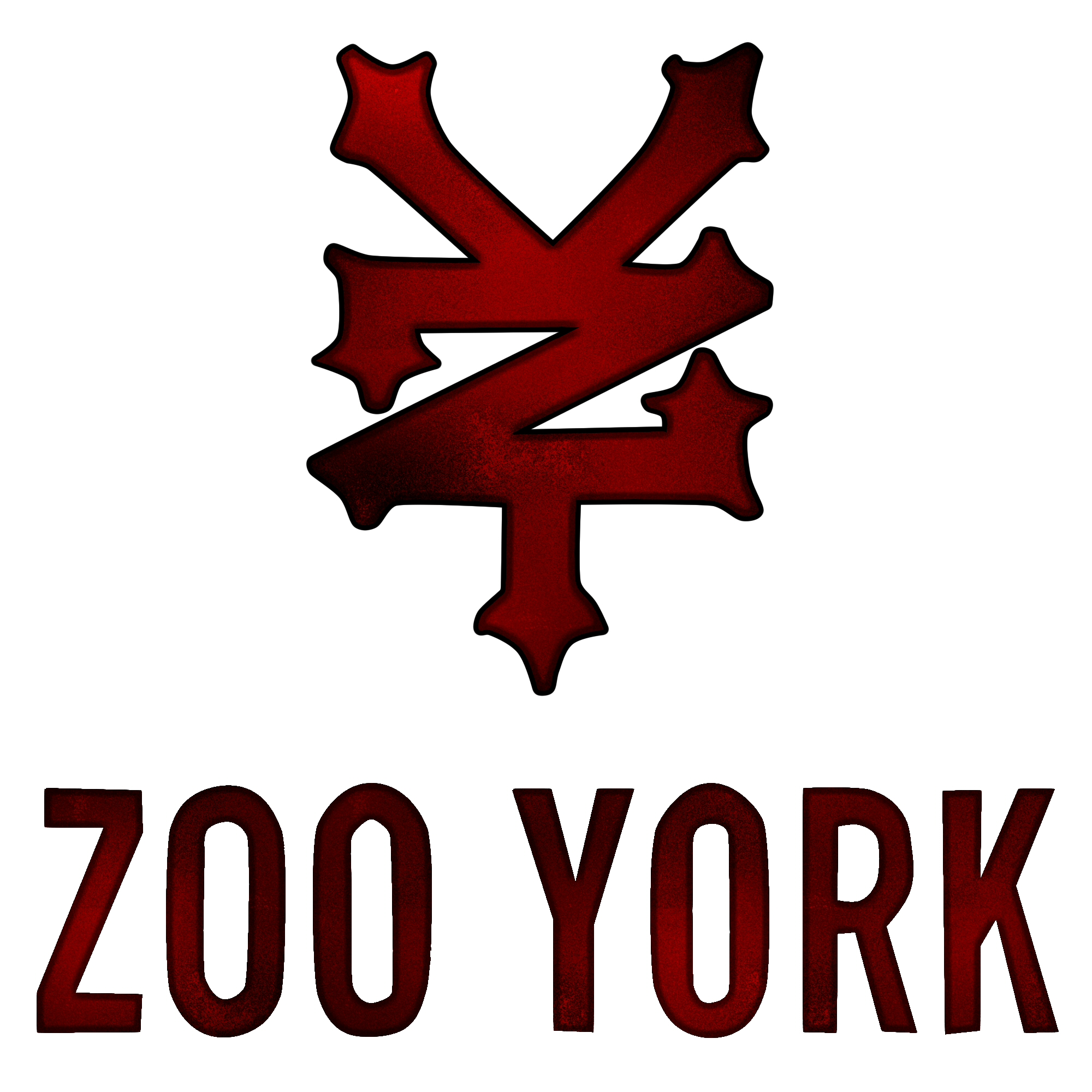 zoo york logo red ediction by pronalddinho on deviantart