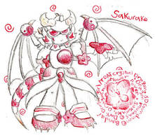Sakurako, Dragonmusha by Kitty-grim-Reaper