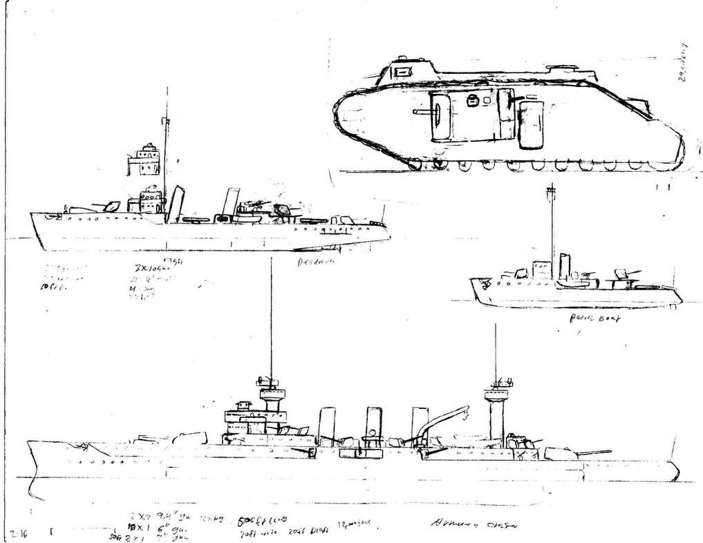 Ww1 Ships By Me 2 by Nebfer