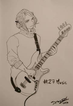 Inktober 2020 #27 - Music