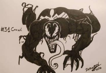 Inktober 2020 #31 - Crawl