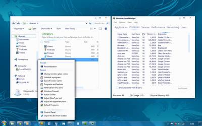 Windows 8 Metro WIP