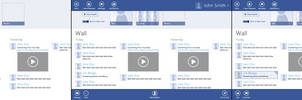 Windows 8 Facebook App Concept