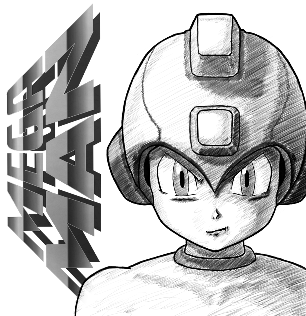 Megaman by sketchygerry