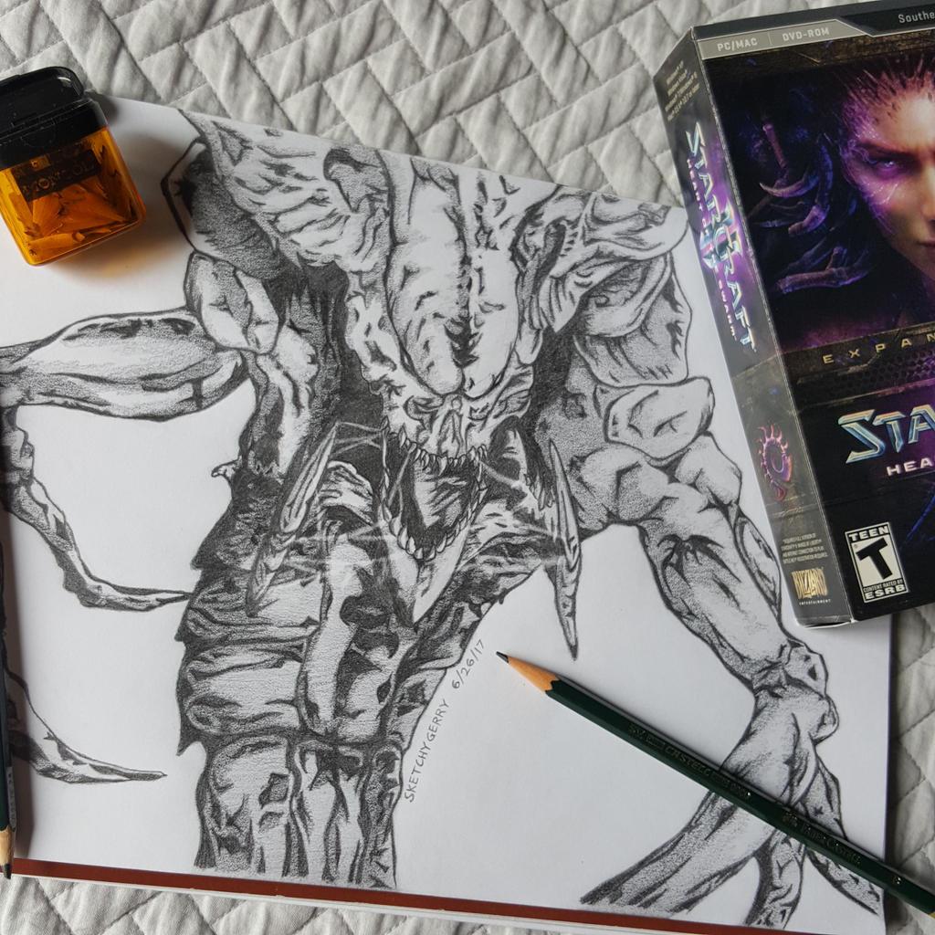 Hydralisk - Starcraft 2 by sketchygerry