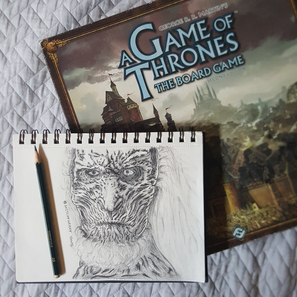 White Walker - GameOfThrones by sketchygerry