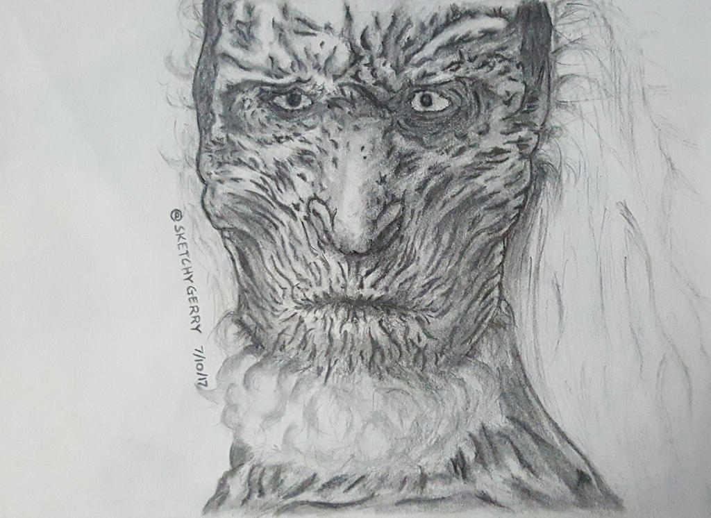 White Walker - Game Of Thrones by sketchygerry