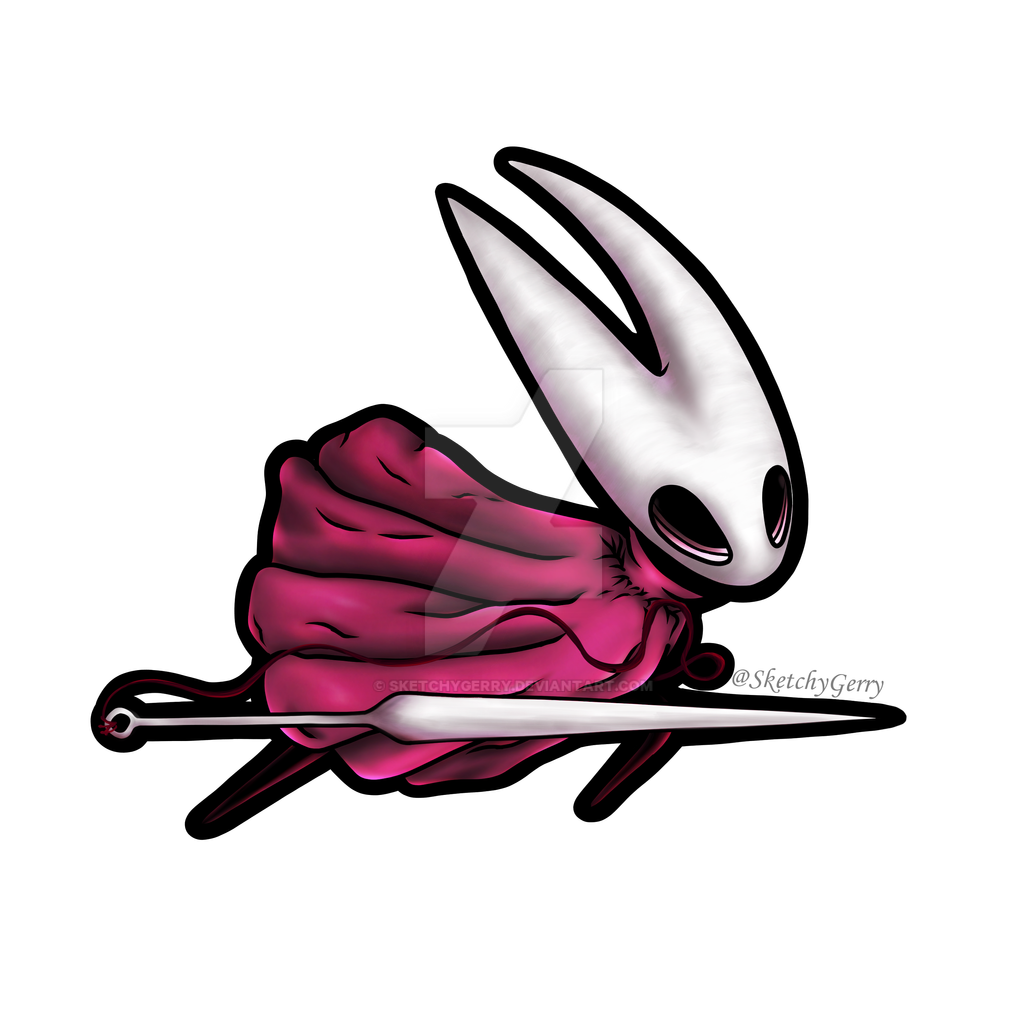 Hornet - Hollow Knight by sketchygerry