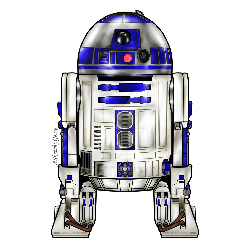 R2-D2 - Star Wars by sketchygerry