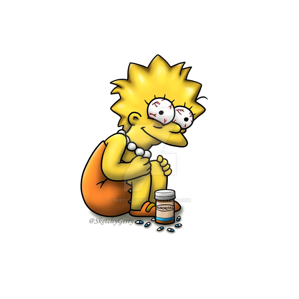 Lisa Simpson by sketchygerry