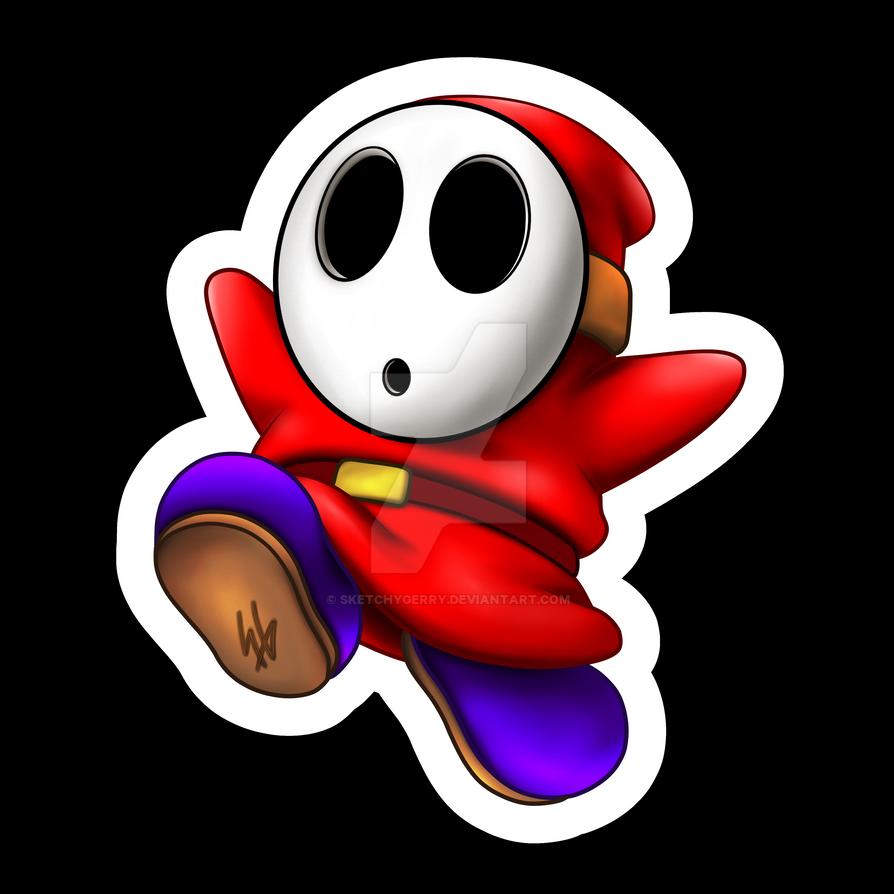 Mario - Shyguy by sketchygerry