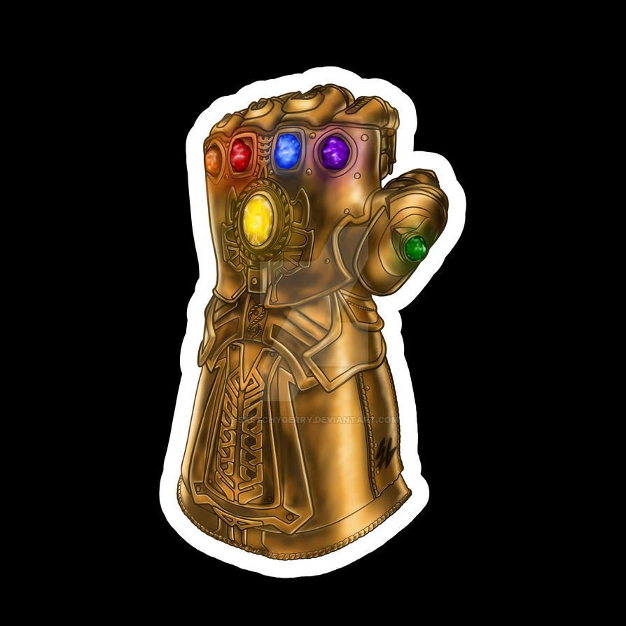 Marvel - Infinity Gauntlet by sketchygerry