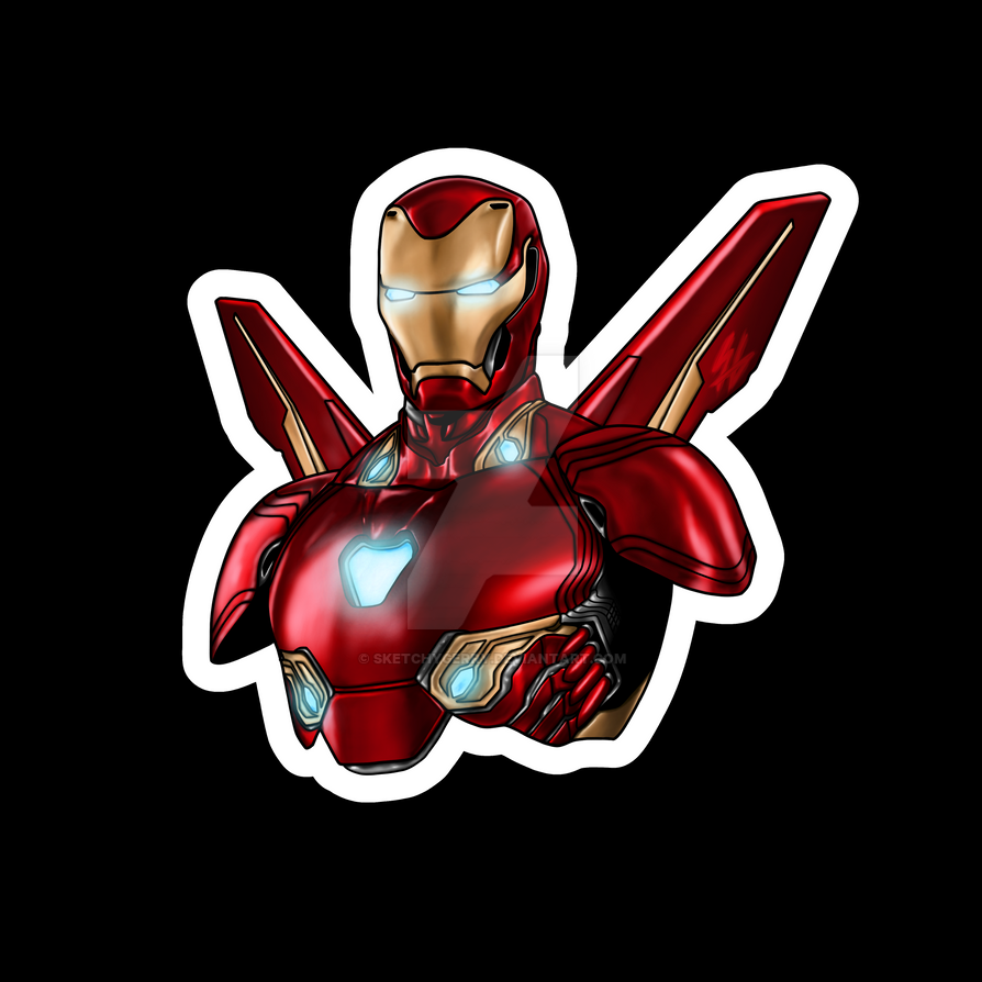 Marvel - Ironman by sketchygerry