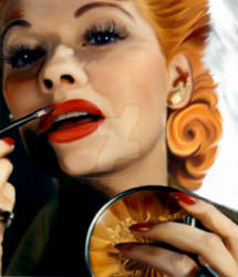 Lucille Ball by WhenpigzflyPerez