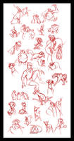 Disney Sketch Dump