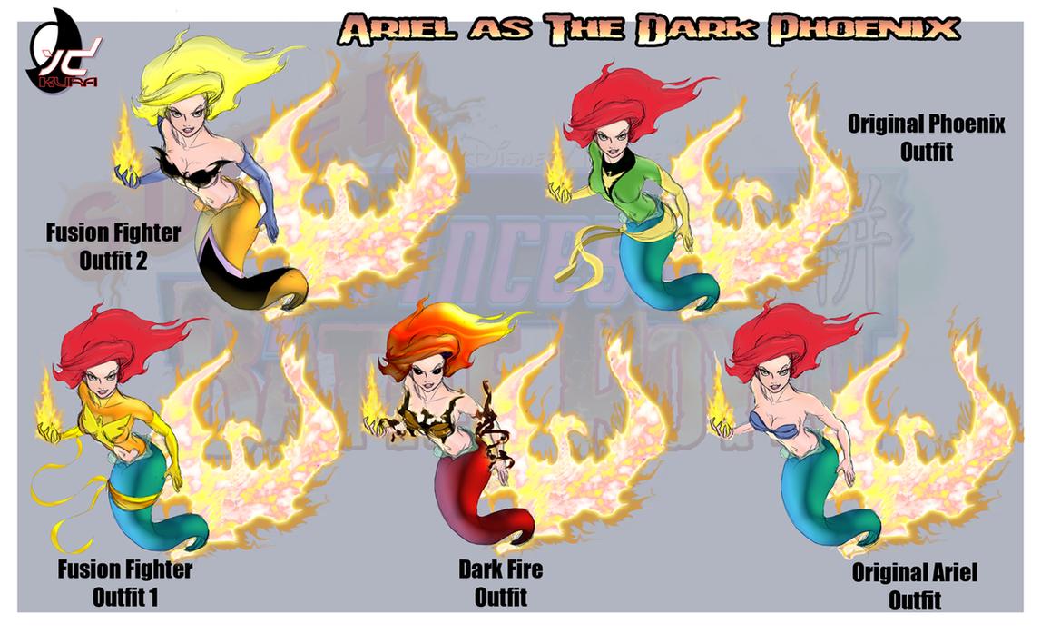 SPFBR Ariel The Dark Phoenix by Bryan-Lobdell on DeviantArt X Men Ariel