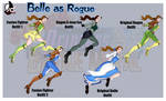 SPFBR Belle as Rogue