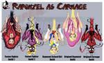 SPFBR Rapunzel as Carnage