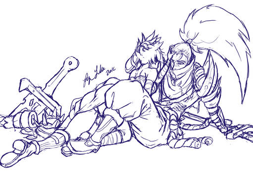Riven and Yasuo The Two of Us