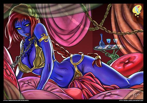 Mystique Princess Leia Cosplay