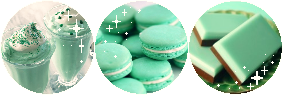 F2U|Decor| Mint Sweets by Mairu-Doggy