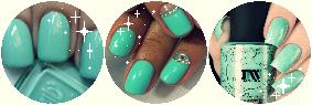 F2U Decor  Mint Nails