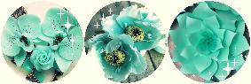 F2U|Decor| Mint Flowers
