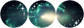 F2U Decor  Aquamarine Cosmos